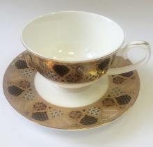 Набор чайных пар 2/4 пр костяной фарфор Магия Japonica Япония
