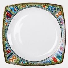 Набор закусочных тарелок на 6 персон костяной фарфор Авангард Japonica Япония