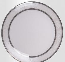 Набор закусочных тарелок на 6 персон костяной фарфор Парадиз Japonica Япония