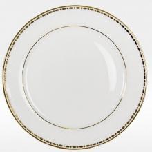 Набор закусочных тарелок на 6 персон костяной фарфор Свадебный Japonica Япония