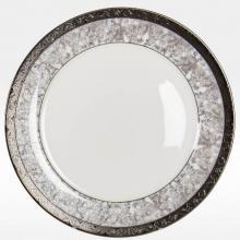 Набор закусочных тарелок на 6 персон костяной фарфор Серебряный иней Japonica Япония