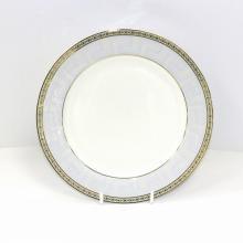 Набор закусочных тарелок на 6 персон костяной фарфор Голубая лесенка Japonica Япония