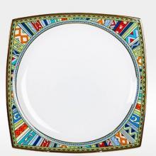 Набор подстановочных тарелок на 6 персон костяной фарфор Авангард Japonica Япония