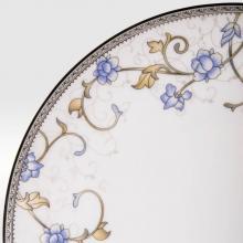 Набор подстановочных тарелок на 6 персон костяной фарфор Грация Japonica Япония