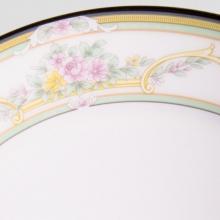 Набор подстановочных тарелок на 6 персон костяной фарфор Нежность Japonica Япония