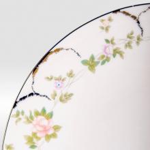 Набор подстановочных тарелок на 6 персон костяной фарфор Ностальжи Japonica Япония