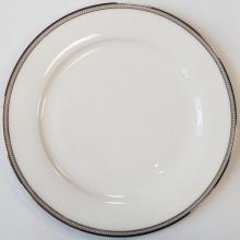 Набор подстановочных тарелок на 6 персон костяной фарфор Рояль Japonica Япония
