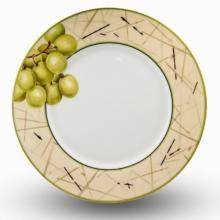 Набор подстановочных тарелок на 6 персон костяной фарфор Семильон Japonica Япония