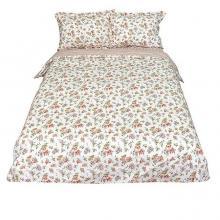 Комплект постельного белья 1,5-спальный перкаль Виктория белый Трехгорная мануфактура