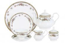 Чайный сервиз 40 предметов на 12 персон Изабелла