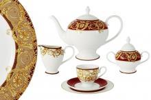 Чайный сервиз  21 предмет на 6 персон Венеция