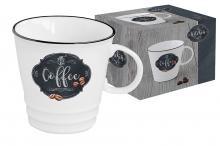 Кружка Кухня в стиле Ретро (кофе) в подарочной упаковке
