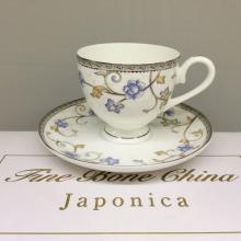 Набор чайных пар на 6 персон костяной фарфор Грация Japonica Япония