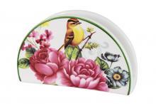 Салфетница Цветы и птицы