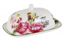 Маслёнка Цветы и птицы