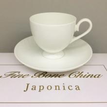 Набор чайных пар на 2 персоны костяной фарфор Ажур Japonica Япония