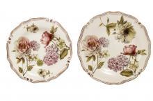 Набор тарелок:суповая+обеденная Сады Флоренции