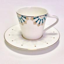 Набор чайных пар на 2 персоны костяной фарфор Изуми Japonica Япония