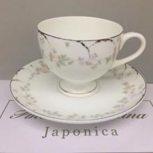 Набор чайных пар на 2 персоны костяной фарфор Ностальжи Japonica Япония
