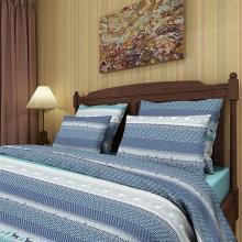 Комплект постельного белья 1,5-спальный перкаль Новые олени Трехгорная мануфактура