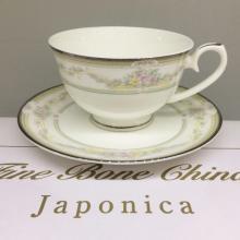 Набор чайных пар 6/12 пр костяной фарфор Нежность Japonica Япония
