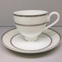 Набор чайных пар 6/12 пр костяной фарфор Парадиз Japonica Япония