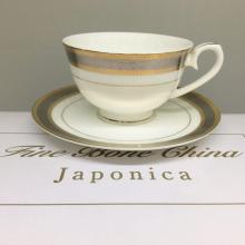 Набор чайных пар 6/12 пр костяной фарфор Ромэн Japonica Япония