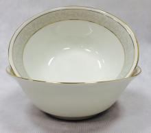 Набор из 2-х салатников 18 см костяной фарфор Антик Japonica Япония