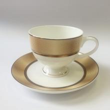 Набор кофейных пар для эспрессо на 2 персоны костяной фарфор Сафари Japonica Япония