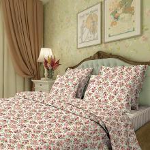 Комплект постельного белья Евро перкаль Марьин цвет Трехгорная мануфактура