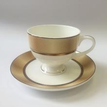 Набор чайных пар на 6 персон костяной фарфор Сафари Japonica Япония