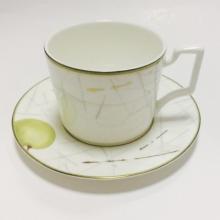 Набор чайных пар на 6 персон костяной фарфор Семильон Japonica Япония