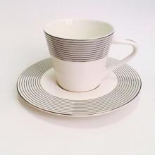Набор чайных пар на 6 персон костяной фарфор Сфера Japonica Япония