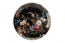 Тарелка Полночные цветы в подарочной упаковке