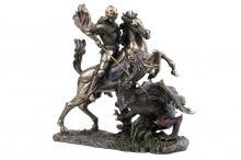 Статуэтка Святой Георгий и дракон
