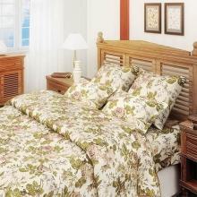 Комплект постельного белья Евро перкаль Прохоровская роза Трехгорная мануфактура