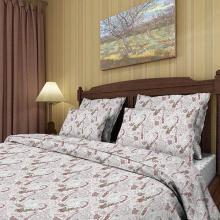 Комплект постельного белья Евро перкаль Жемчужина кашмира Трехгорная мануфактура