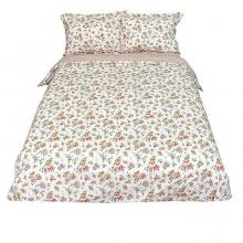 Комплект постельного белья Евро перкаль Виктория белый Трехгорная мануфактура