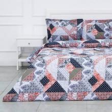 Комплект постельного белья Семейный перкаль Шафран Трехгорная мануфактура