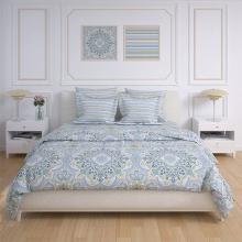 Комплект постельного белья Семейный перкаль Бисер Трехгорная мануфактура