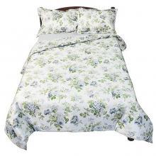 Комплект постельного белья 1,5-спальный сатин Розарий белый Трехгорная мануфактура