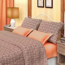 Комплект постельного белья Евро сатин Арабеска Трехгорная мануфактура