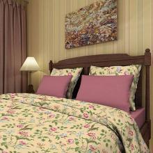 Пододеяльник 1,5-спальный сатин Старинные обои Трехгорная мануфактура