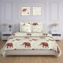 Пододеяльник 2-спальный перкаль Бенгальский слон Трехгорная мануфактура