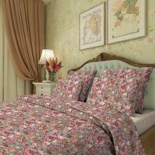 Комплект постельного белья Семейный перкаль Жардин Трехгорная мануфактура