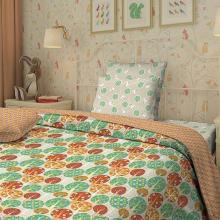 Комплект постельного белья 1,5-спальный детский перкаль Котики Трехгорная мануфактура