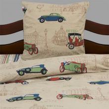 Комплект постельного белья 1,5-спальный детский перкаль Ретро-автомобили Трехгорная мануфактура