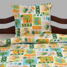 Комплект постельного белья 1,5-спальный детский перкаль Совы Трехгорная мануфактура