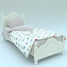Комплект постельного белья 1,5-спальный детский перкаль Азбука Трехгорная мануфактура