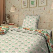 Комплект постельного белья для малышей перкаль Котики Трехгорная мануфактура